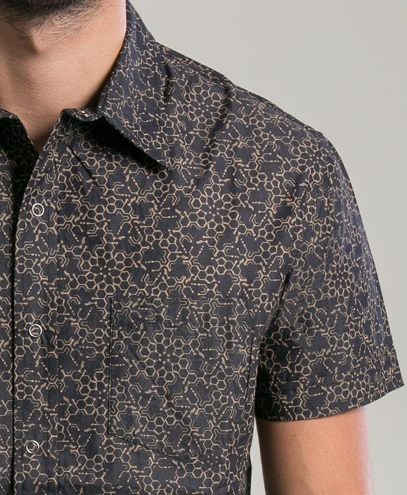 LSD Button Shirt ➟ Black