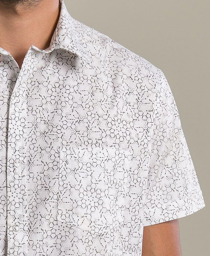 LSD Button Shirt ➟ White