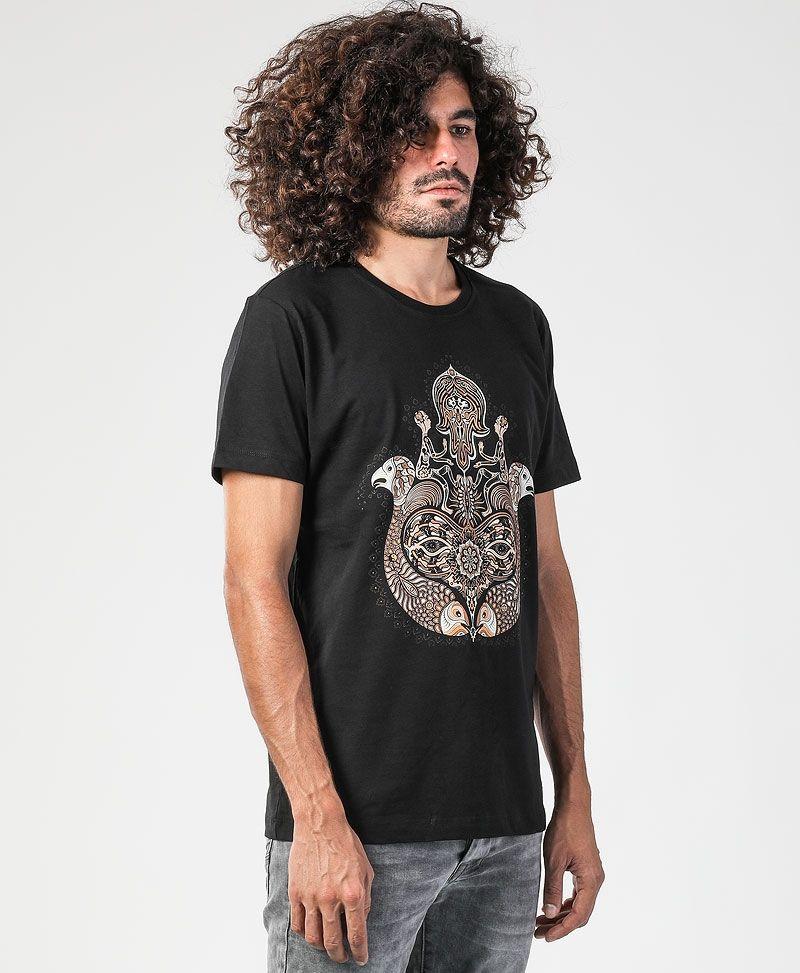 Hamsa T-shirt ➟ Black