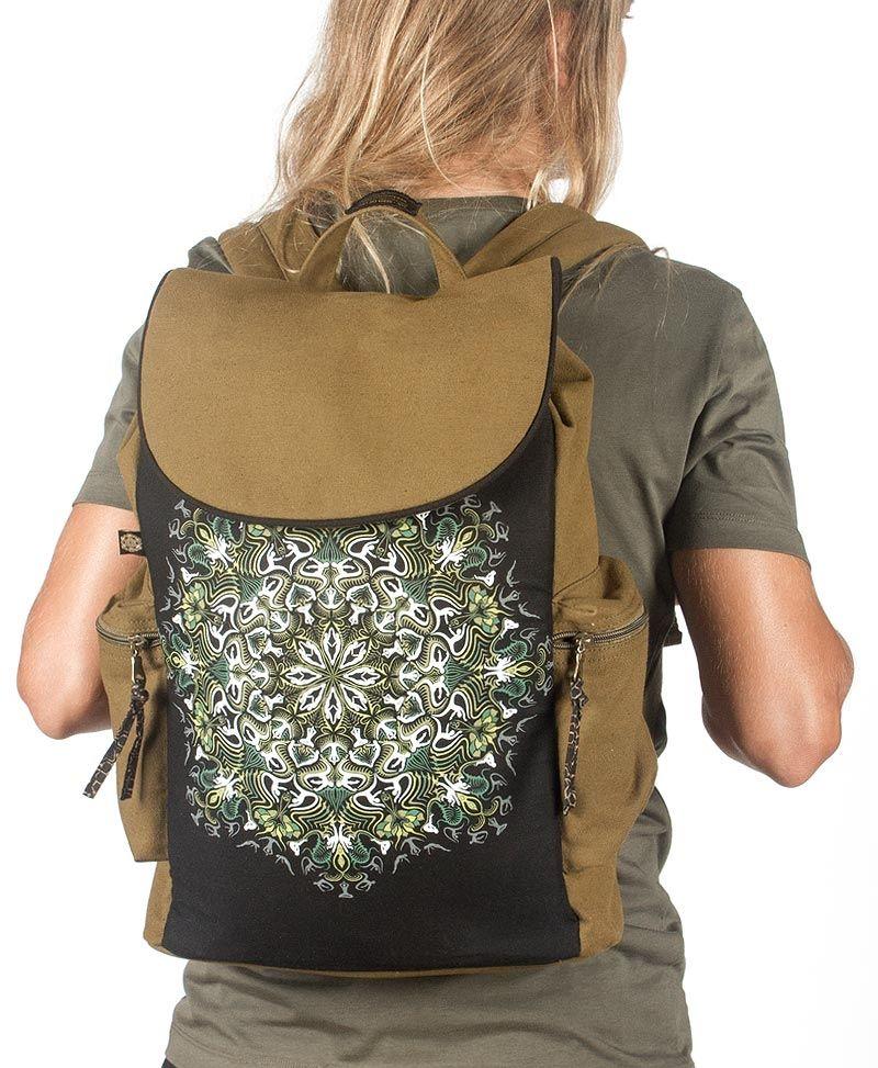 Lotusika Backpack - Khaki