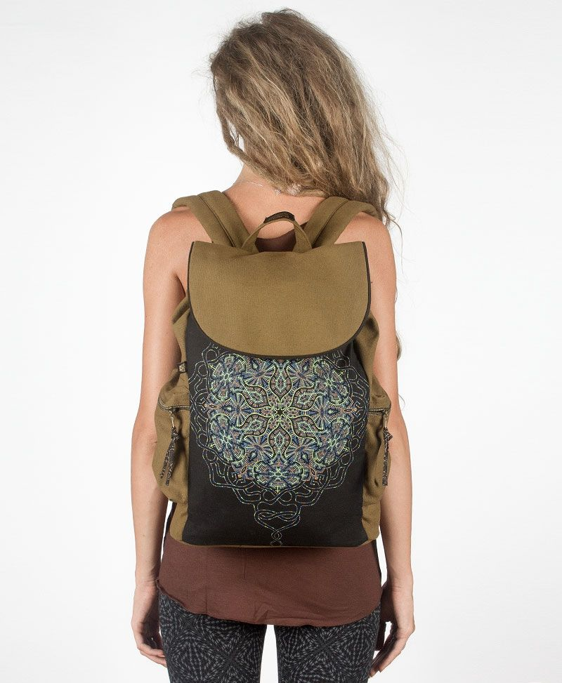 Peyote Backpack - Khaki