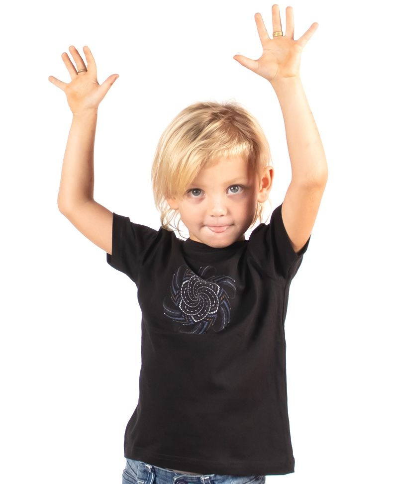 Vortex Kids T-shirt ➟ Black