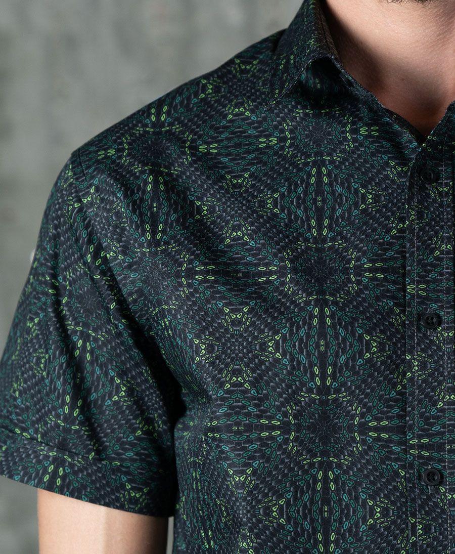 Hexit Button Shirt