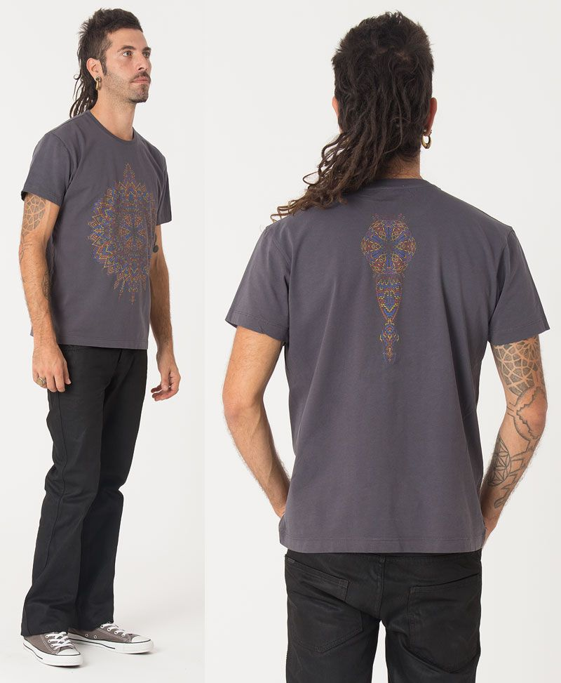 Mexica T-shirt ➟ Grey