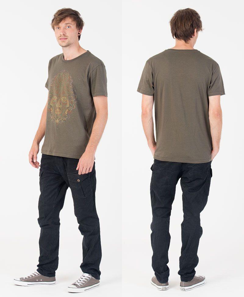TriMurti T-shirt ➟ Olive
