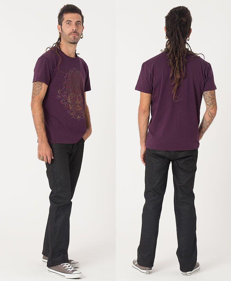 TriMurti T-shirt ➟ Purple