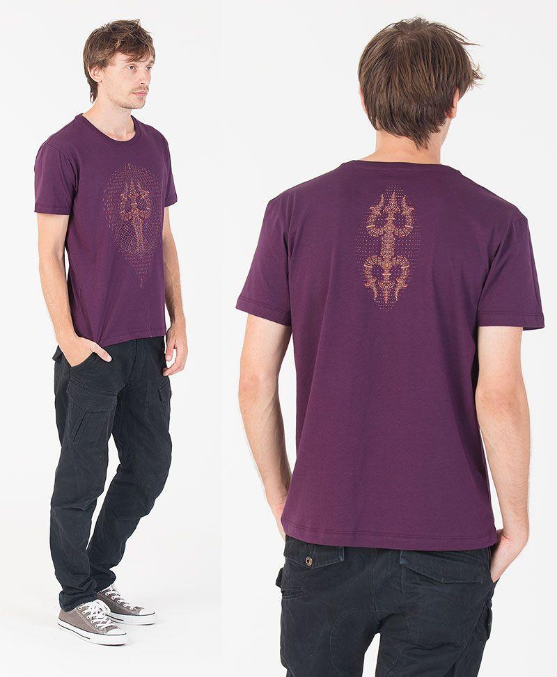 Trishula T-shirt ➟ Purple