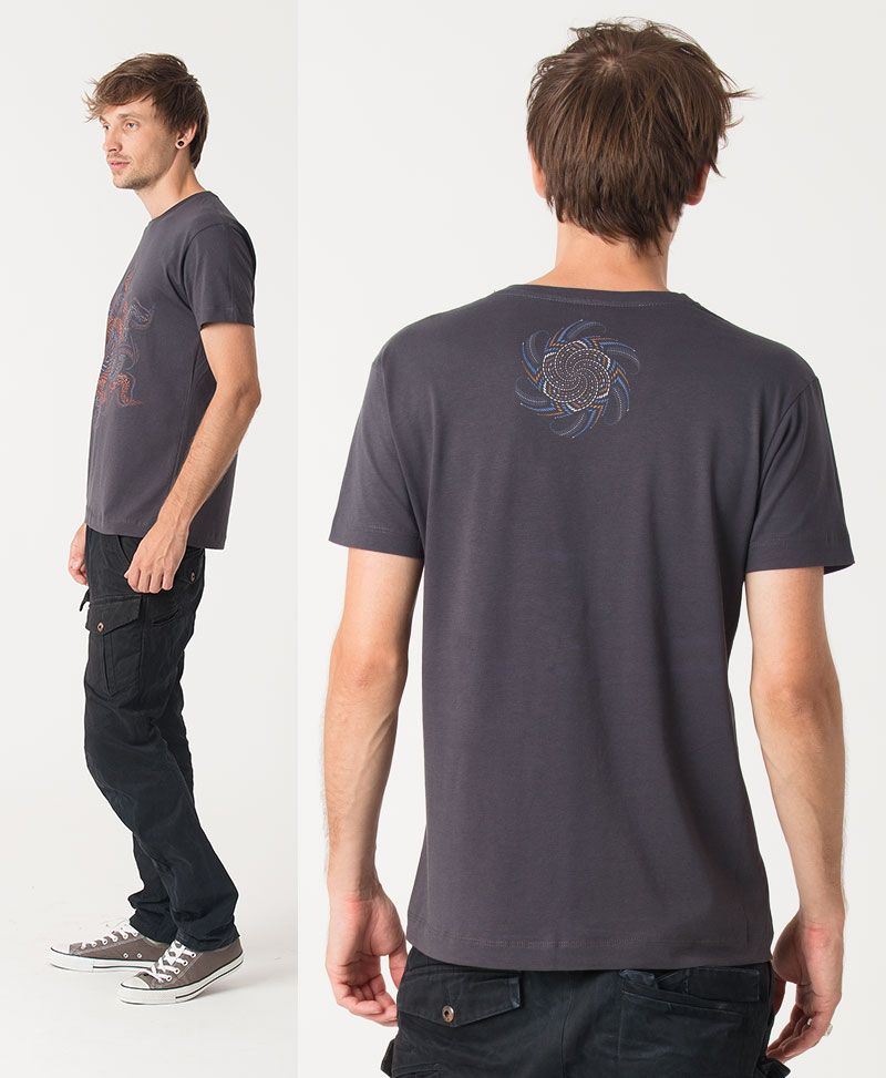 Vortex T-shirt ➟ Grey