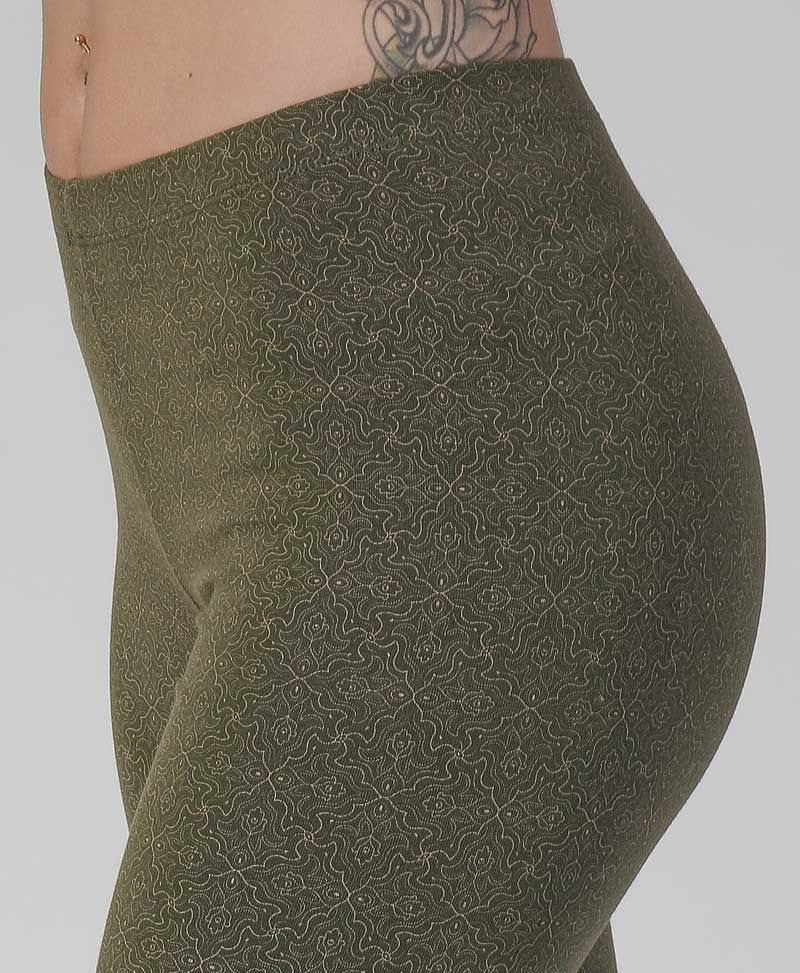 Hamsa Leggings ➟ Olive