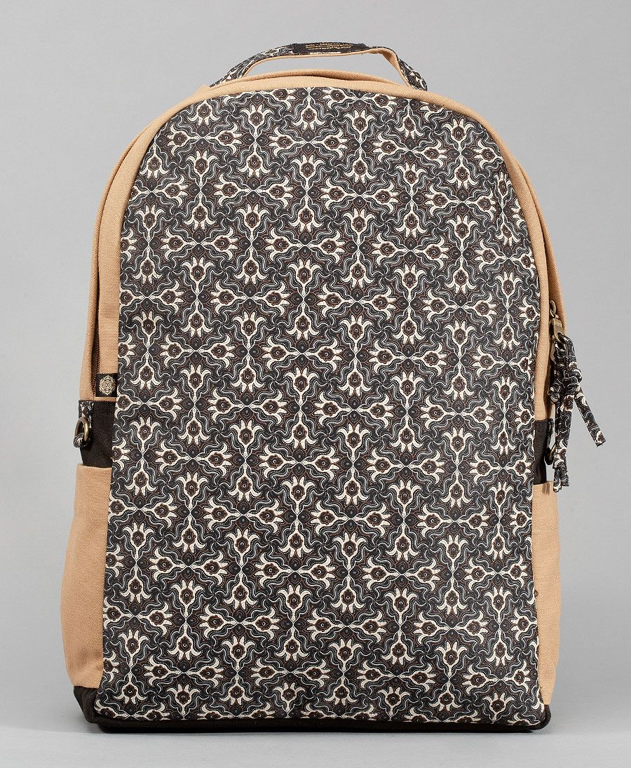 Hamsa Backpack- Round (Full-Print)