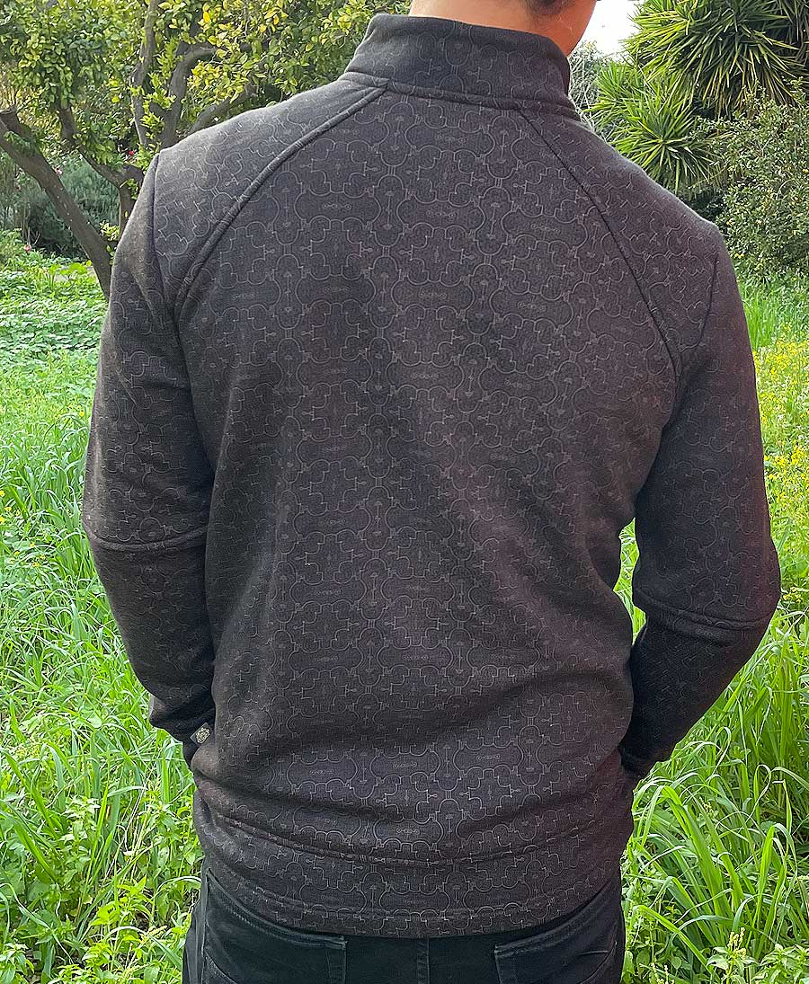 50% Off Sale  ➟ Shipibo Kené Zip Jacket (imperfect)