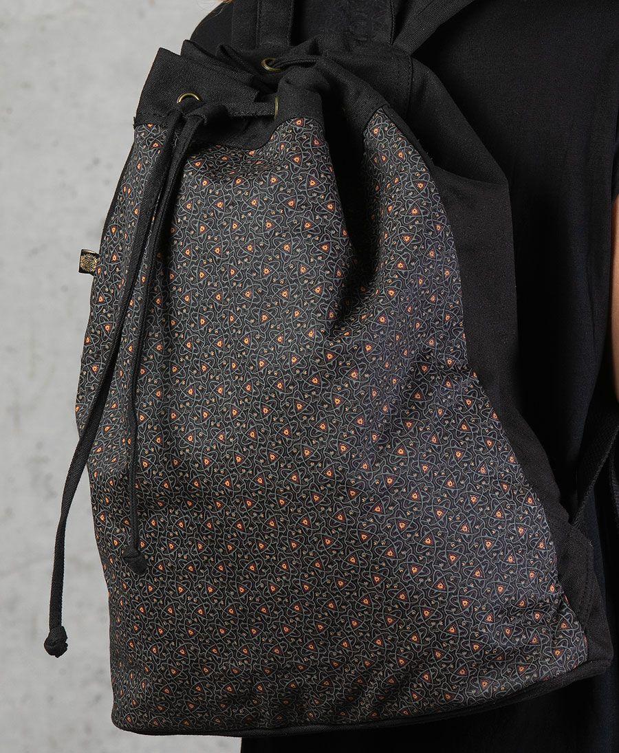 Atomic ➟ Padded Straps Drawstring Backpack