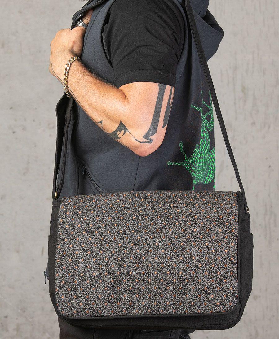 Atomic Messenger Bag | Black