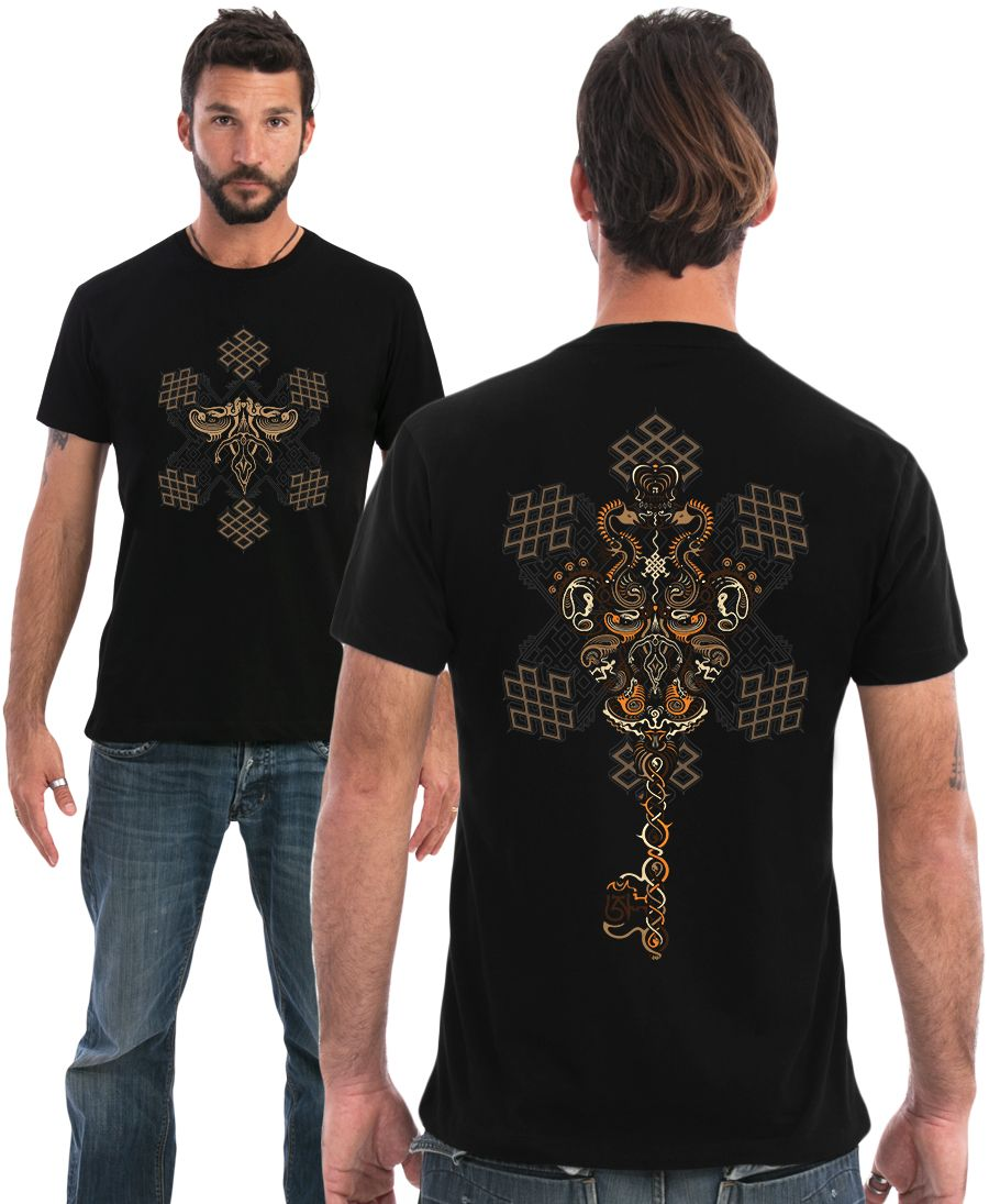 Om On Key T-shirt