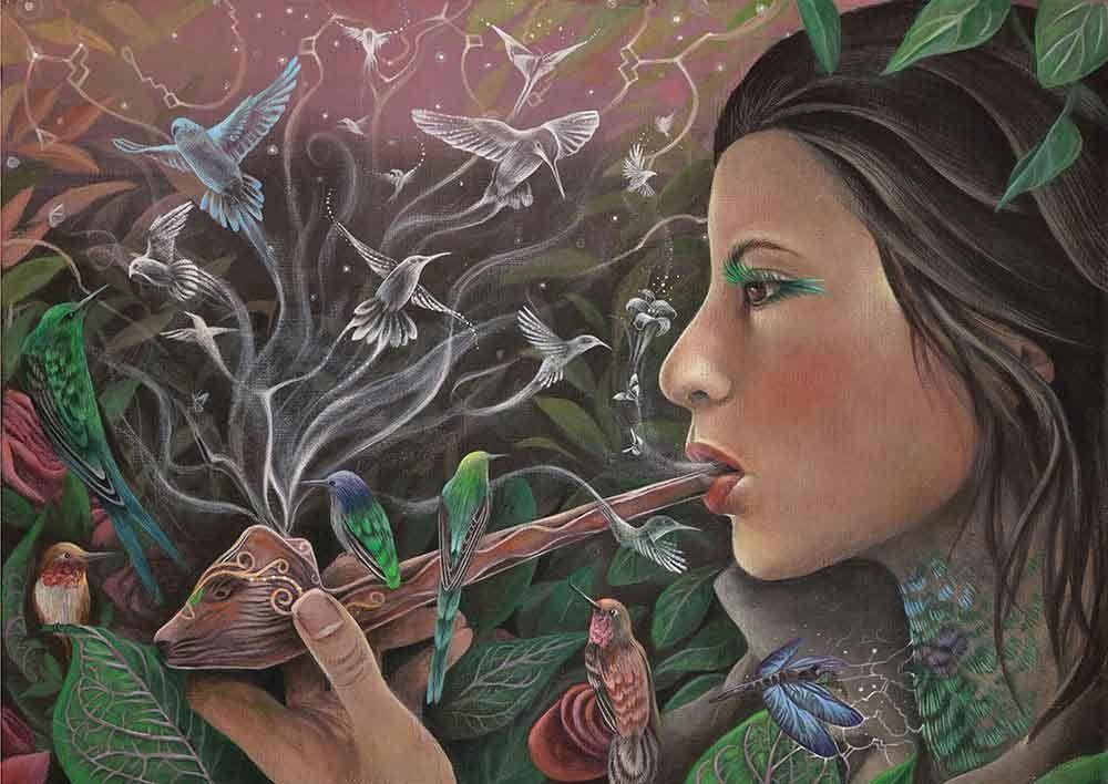 psychedelic-shirt-trance-festival-clothing-sol-seed-of-life-seed-Li-Lian-Kolster-_Medicine-Birds_