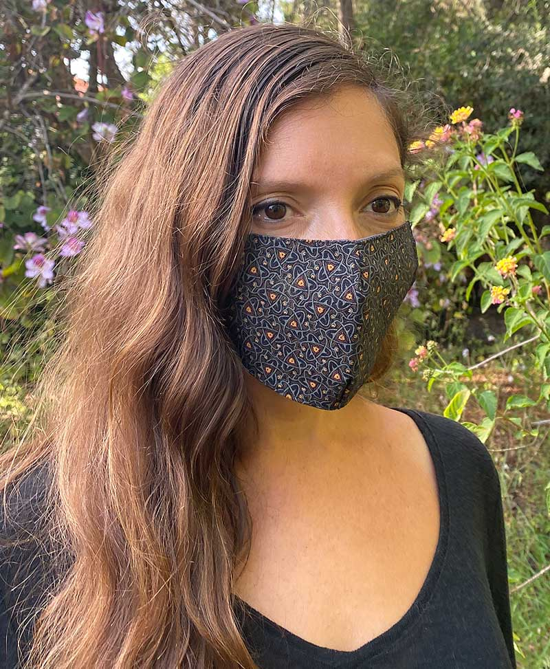 Set Of 5 Face Masks ➟ Full Print