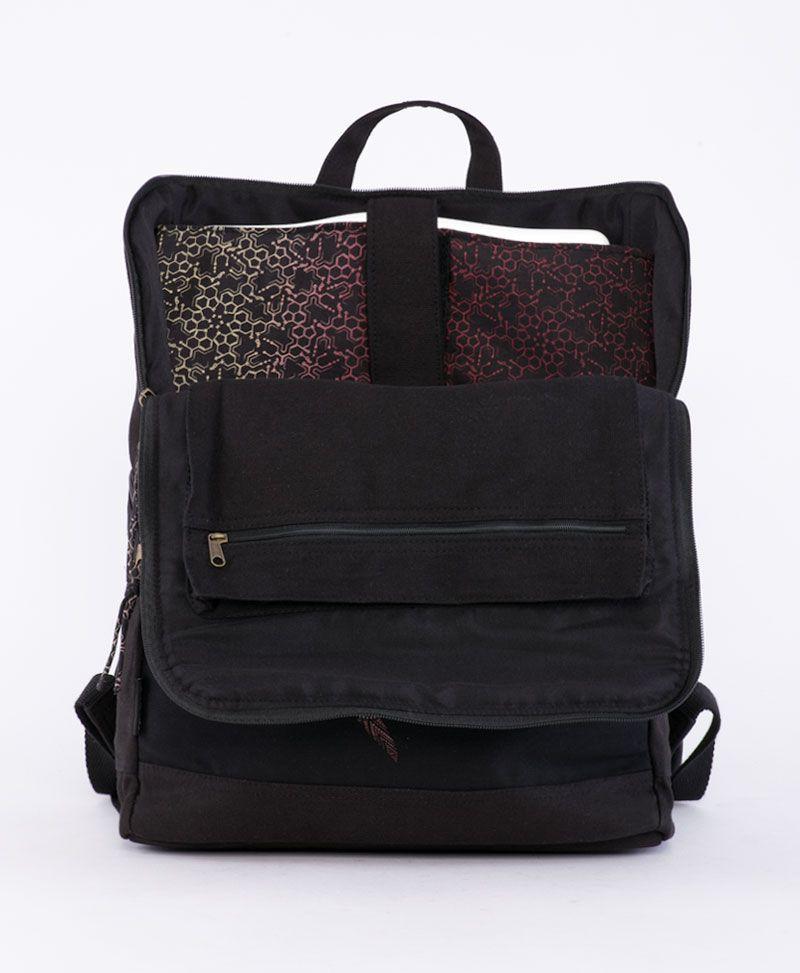 Vortex Backpack - Square- Grey