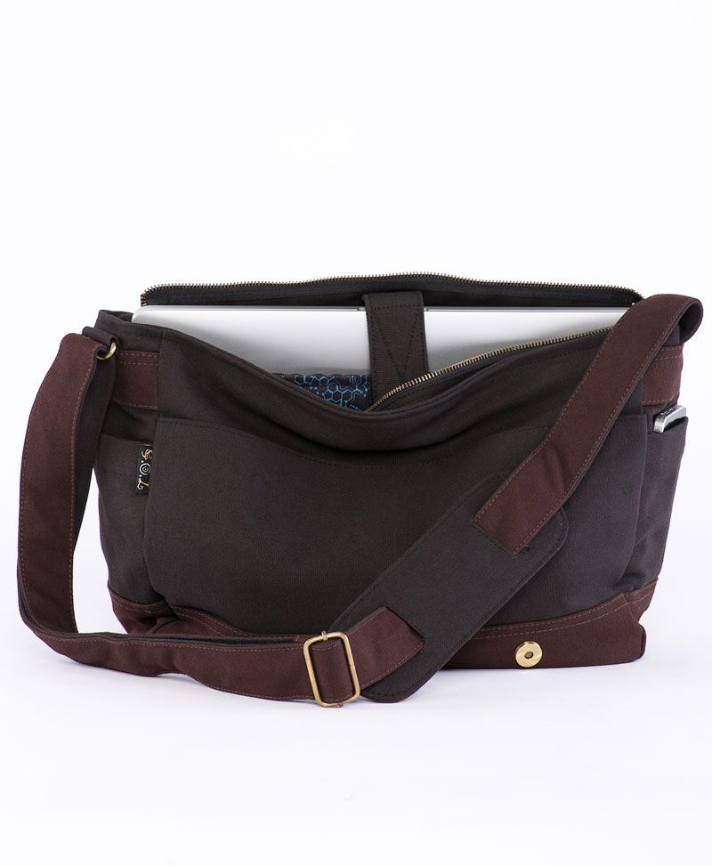 Anahata Messenger Bag | Brown