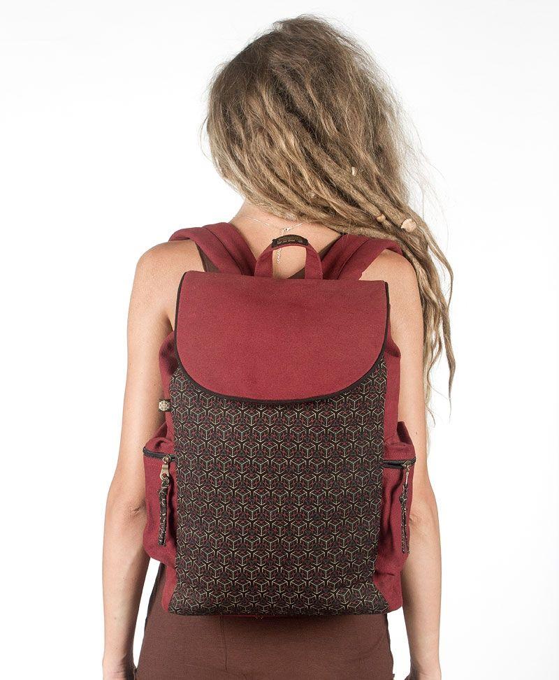 Kubic Backpack - Maroon