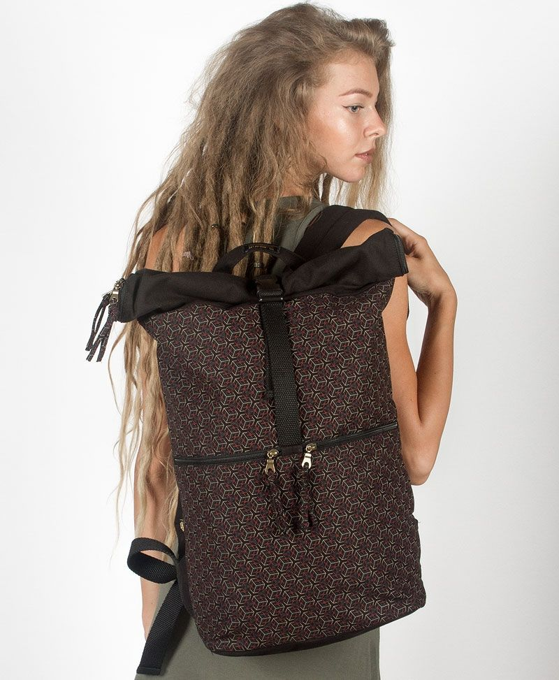 Kubic Roll-Top Backpack