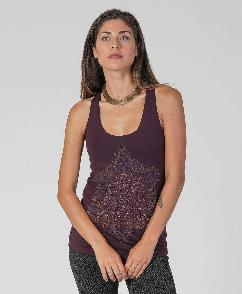 Anahata Top ➟ Purple / Red