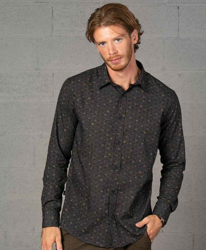Beez Button Shirt- Long Sleeve