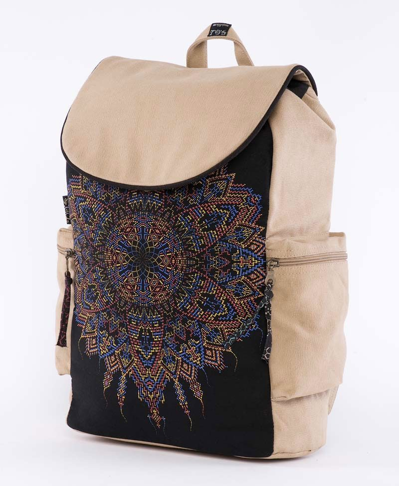 Mexica Backpack - Stone