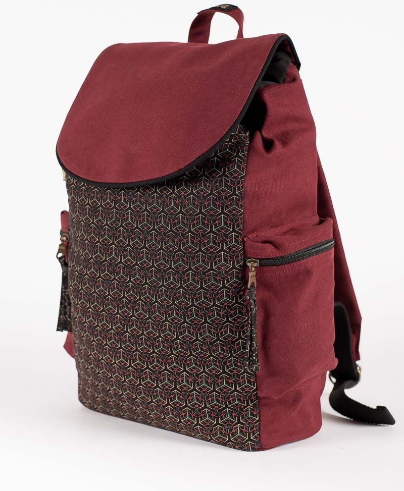Kubic Backpack - Maroon