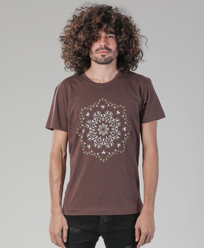 Lotusika T-shirt ➟ Brown