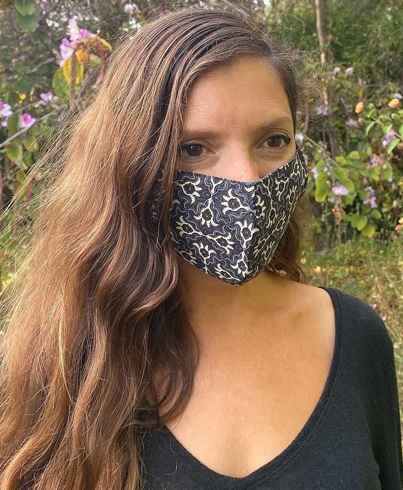 Hamsa Face Mask ➟ Full Print