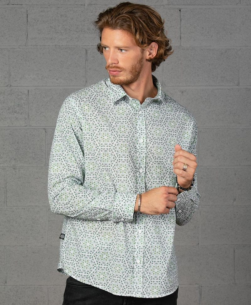 Hempi Button Shirt- Long Sleeve