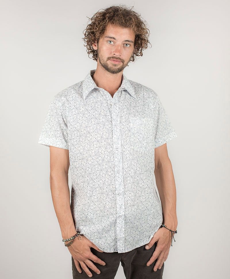 Plonter Button Shirt ➟ White