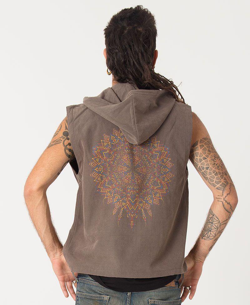 Mexica Microfiber Vest ➟ Grey