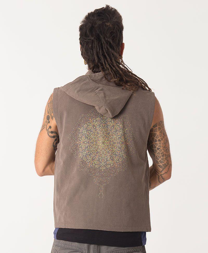 Peyote Microfiber Vest ➟ Grey