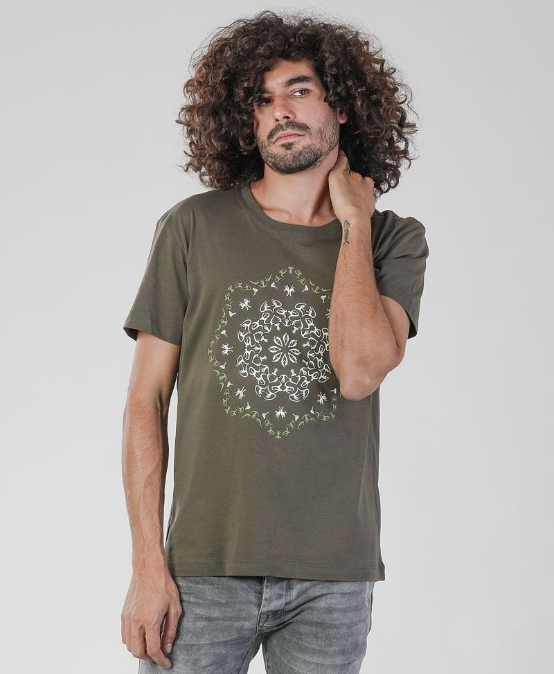 Lotusika T-shirt ➟ Olive