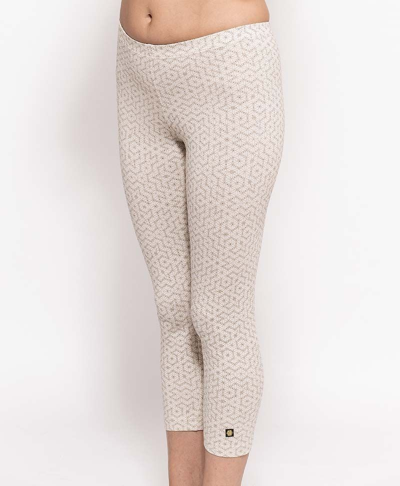 Seeds Leggings ➟ Off White