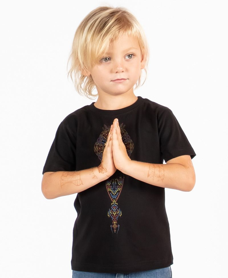 Mexica Kids T-shirt ➟ Black