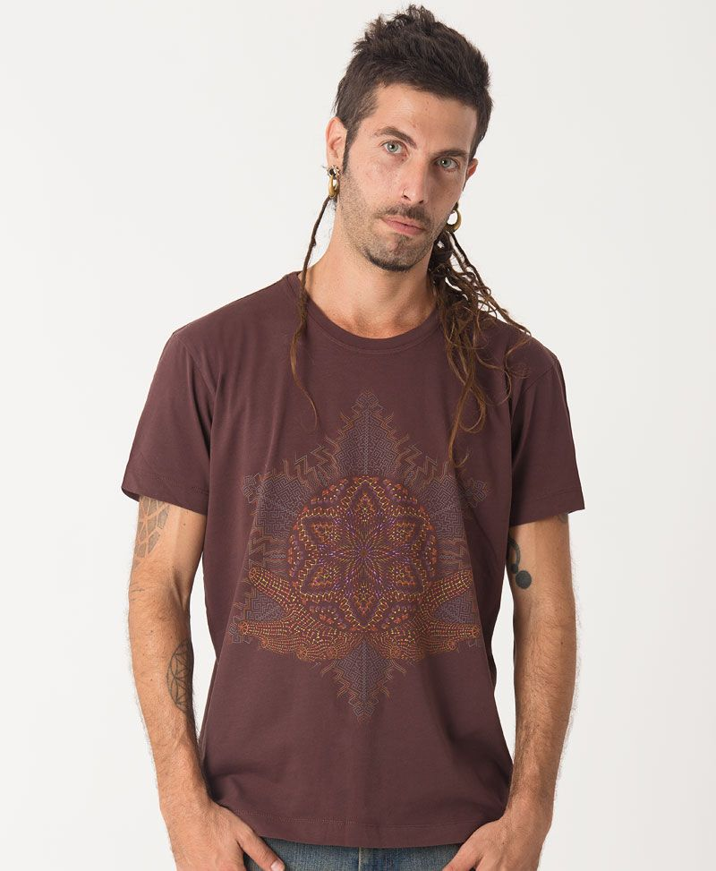 Anahata T-shirt ➟ Brown