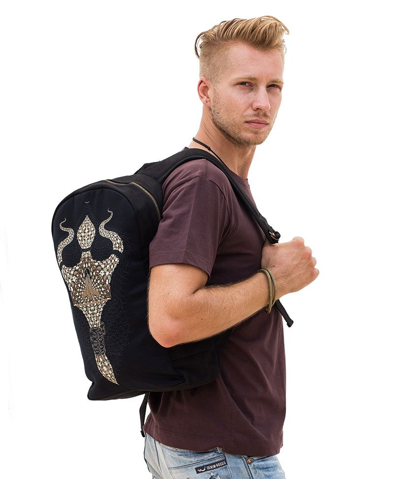 Trishula Backpack Black - Round