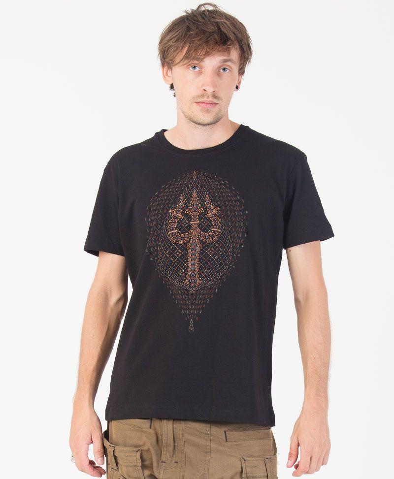 Trishula T-shirt ➟ Black