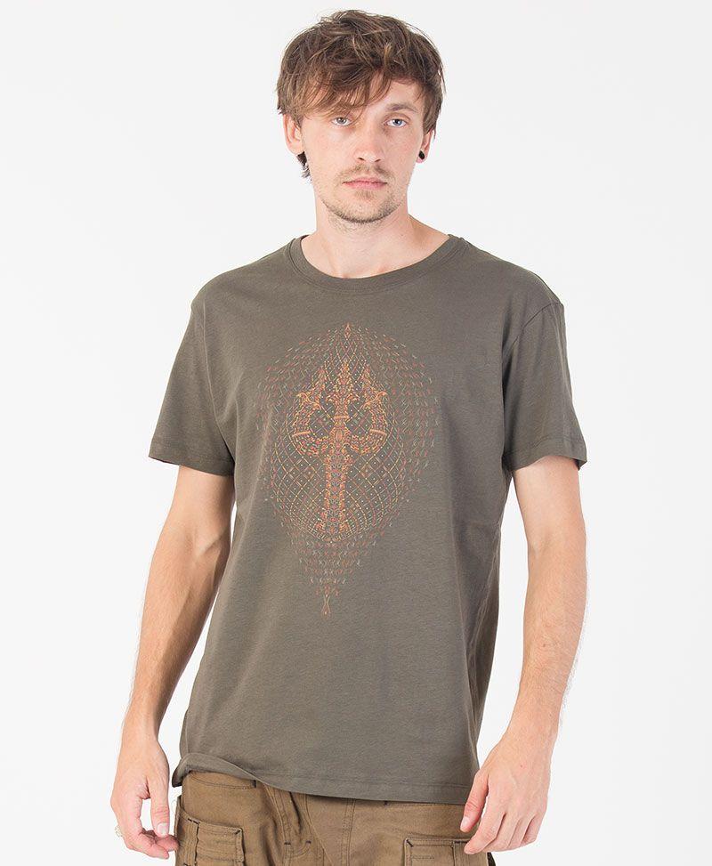 Trishula T-shirt ➟ Olive
