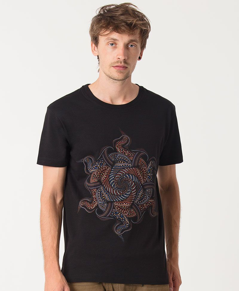 Vortex T-shirt ➟ Black