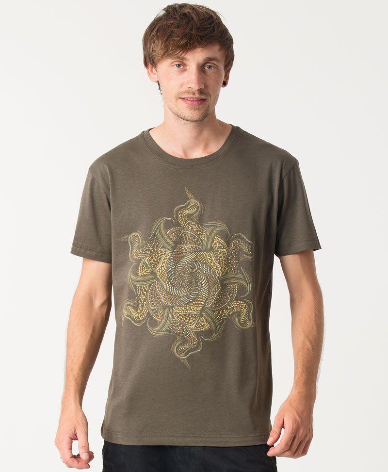 Vortex T-shirt ➟ Olive