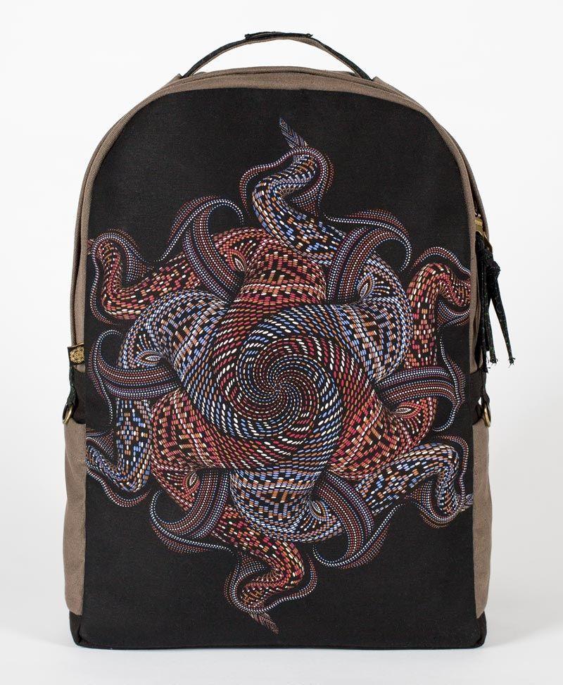 Vortex Backpack - Round - Grey
