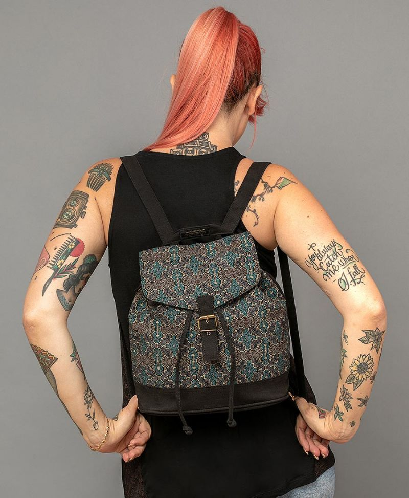 Shipibo Kené Mini Backpack