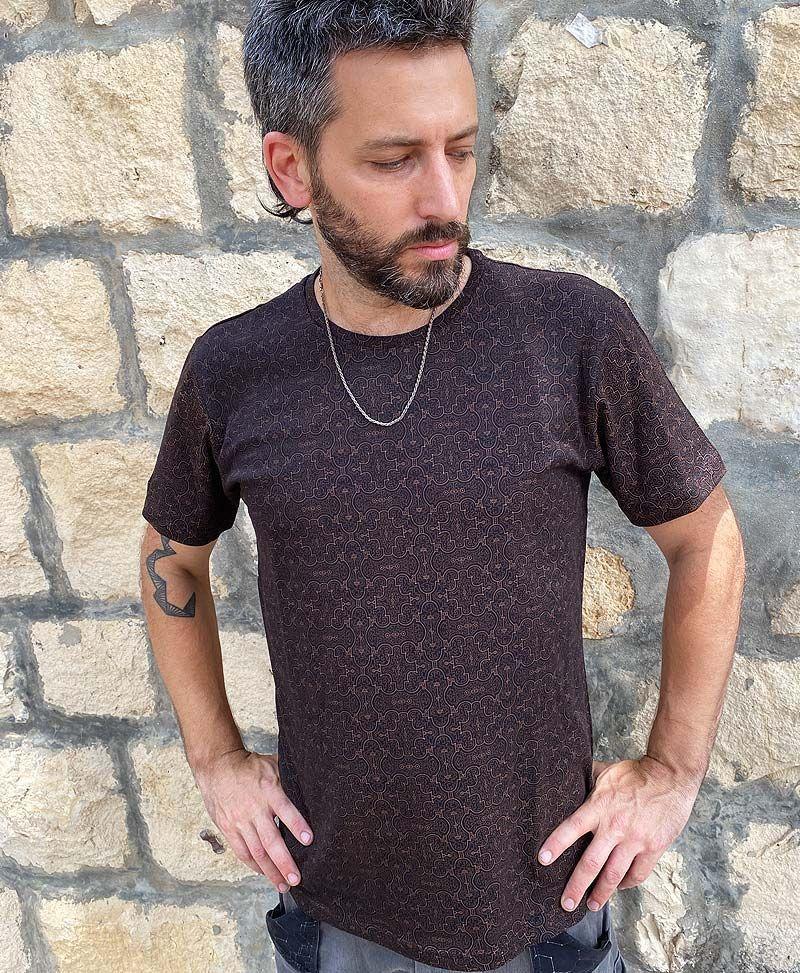 Shipibo Kené  T-shirt ➟ Black