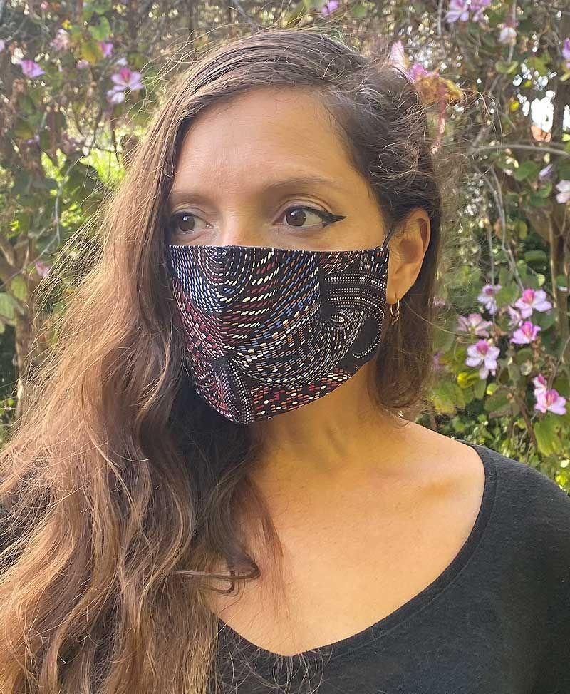 Vortex Face Mask ➟ Full Print