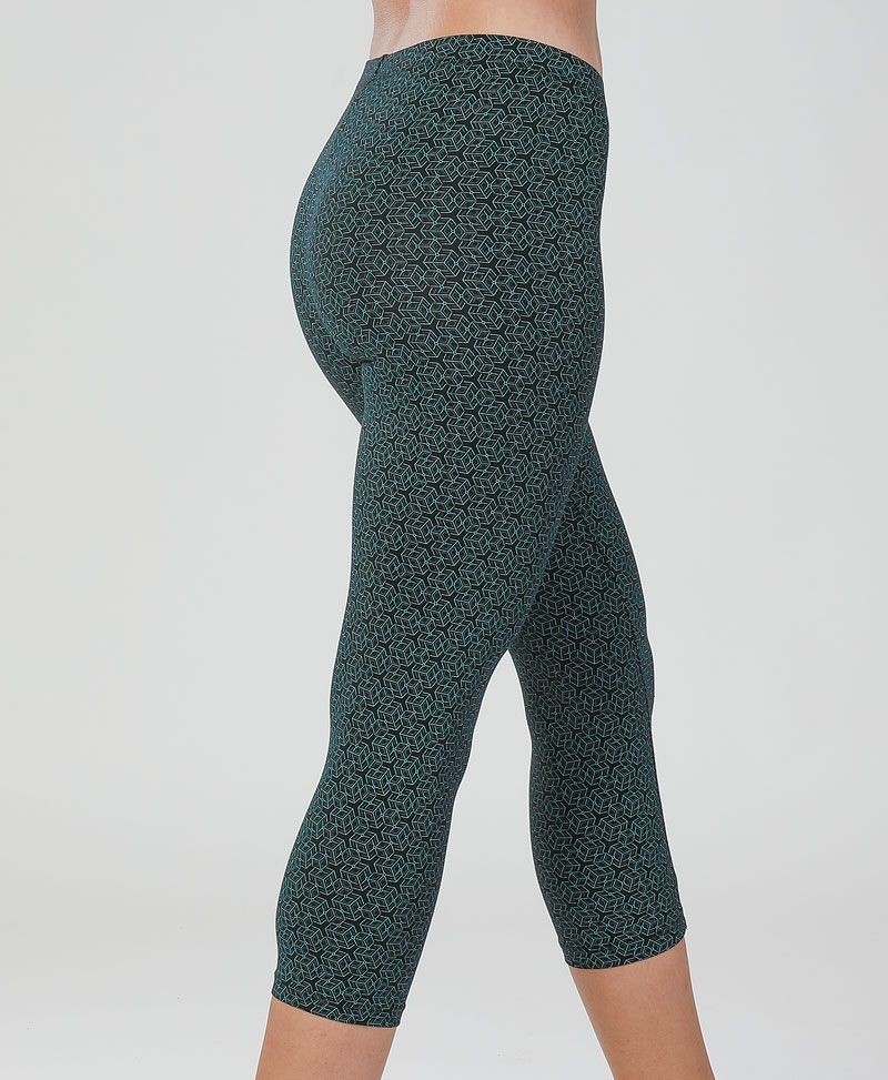 Kubic Leggings ➟ Teal