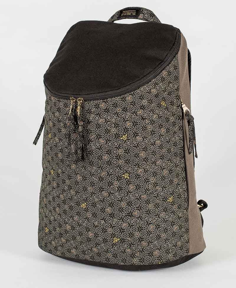 psytrance-festival-wide-top-backpack-laptop-bag-canvas-vegan-beehive