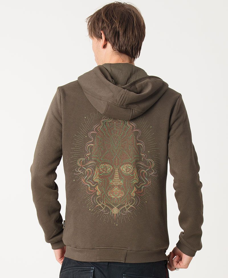 psychedelic clothing mens hoodie